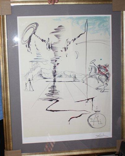 28A: Signed Dali Lithograph