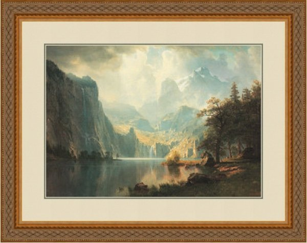 2C: In The Mountains by Albert Bierstadt 132-274
