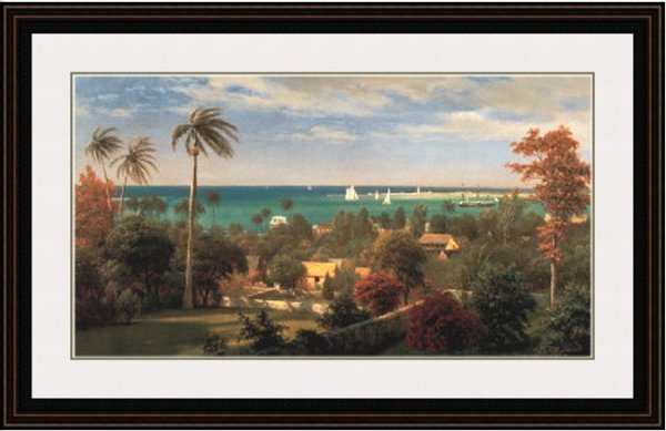 3C: Panoramic View Of The Harbor At Nassau In The Baham