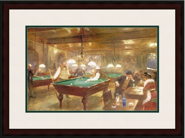 1D: The Billiard Parlor by Beraud 125-104
