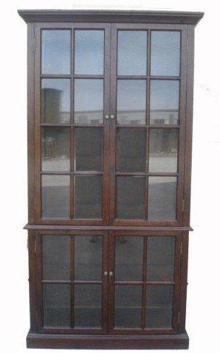 3K: Oak 4-Door Cabinet