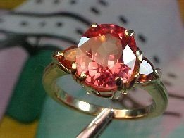 2Z: Rare Solitaire Fancy Color SAPPHIRE 14kt Ring