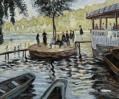 4: Monet - La Grenouillere (The Frog Pond)