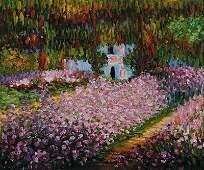 141: Monet - Artist's Garden at Giverny