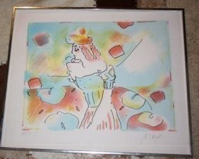 350A: Original Peter Max Lithograph