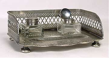 2: Antique inkwell