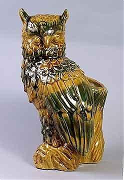 5C: Owl Vase