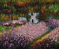 1231: Monet - Artist's Garden at Giverny
