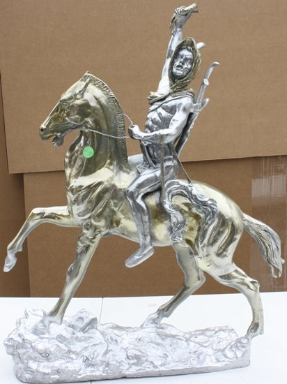 2Q: Signed Silver & Gold Bronze Scalp Remington