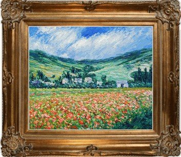 5O: Monet - Poppy Field near Giverny