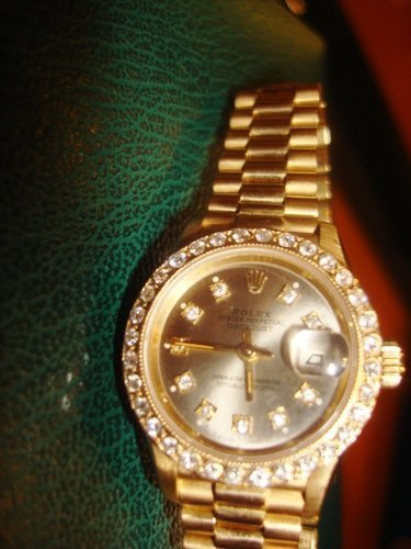 300Z: Ladies Presidental Diamond Dial Rolex