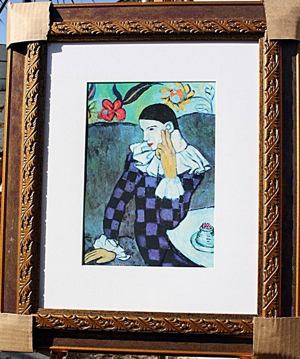 """2C: """"Leaning Harlequin"""" by Picasso"""