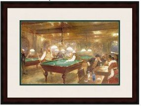 3: 1D: The Billiard Parlor by Beraud 125-104