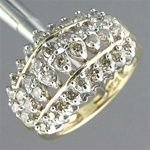 8Z: 1.50 ctw. Diamond 10K Yellow Gold Ring RD-528