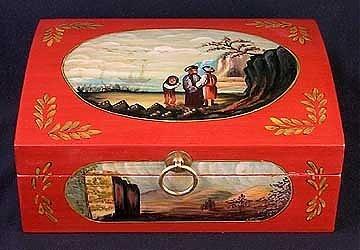 34: Handpainted Letter Box