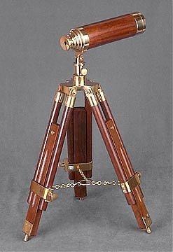 111: Wood and Brass Telescope