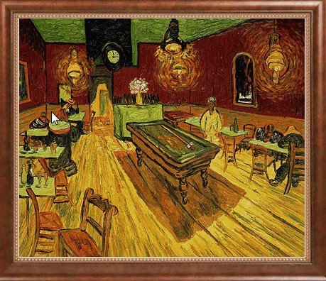 2P: Van Gogh - The Night Cafe