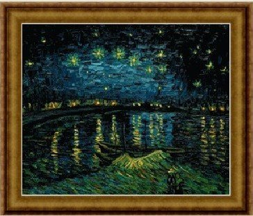 Starry Night over the Rhone, Vicent Van Gogh