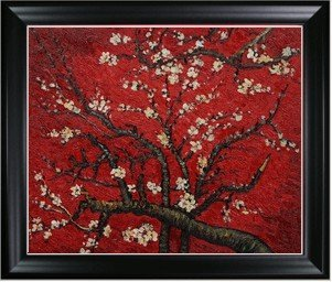 4O: Van Gogh - Branches Of An Almond Tree In Blossom