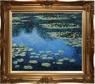1O: Monet - Water Lilies