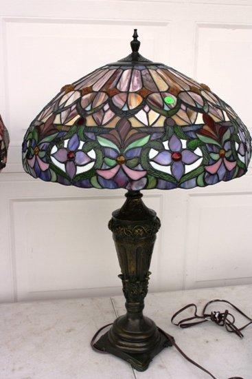 4: Tiffany Style Shade Table Lamp