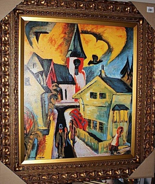 """2B: """"Konigstien"""" - Kirchner - Giclee on canvas"""