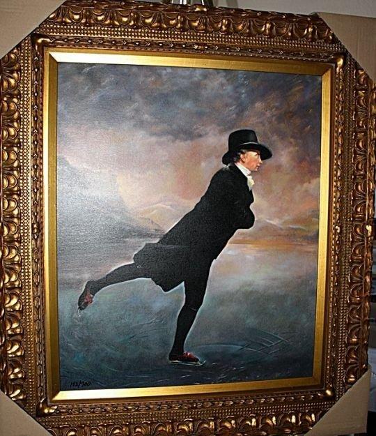 "5B: ""Skating"" Sir Henry Rayburn Giclee"