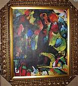 """8B: """"Picture With An Archer"""" - Kandinsky - Giclee"""