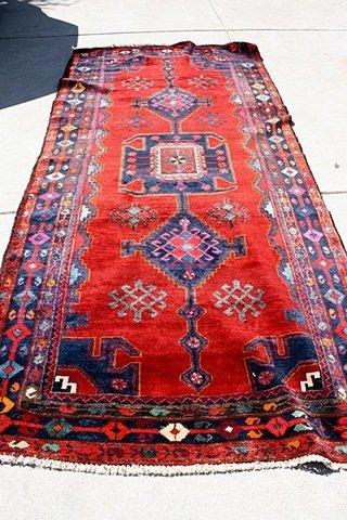 4G: CP-4 Beautiful Ornate Persian Rug 10'x12'