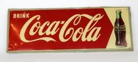 Vintage MCA Coca-Cola advertising sign