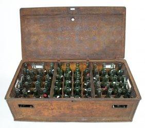 Rare Coca Cola railroad metal shipping crate
