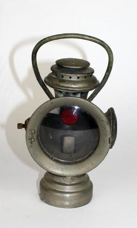The Neverout insulated kerosene lamp
