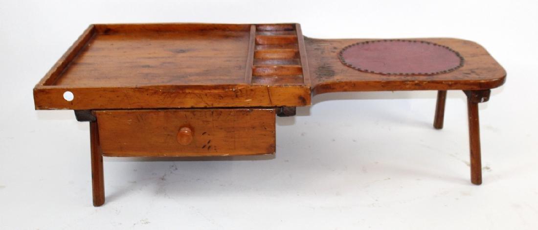 Primitive American cobbler's bench