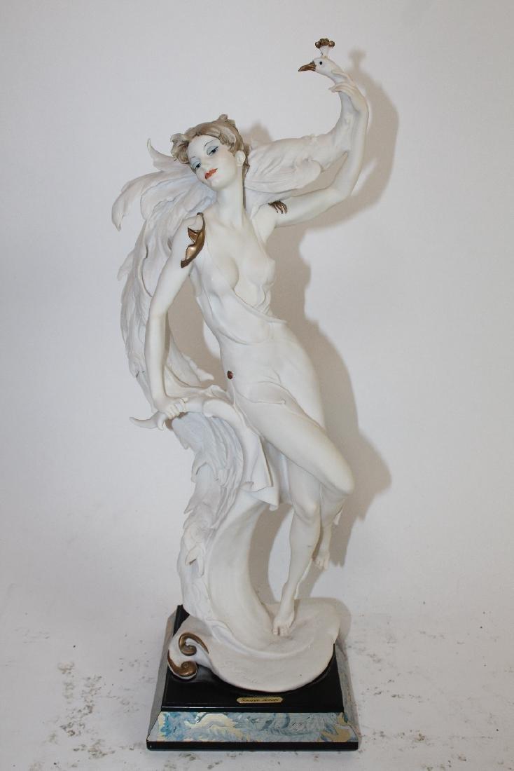 "Giuseppe Armani ""Woman with Peacock"""