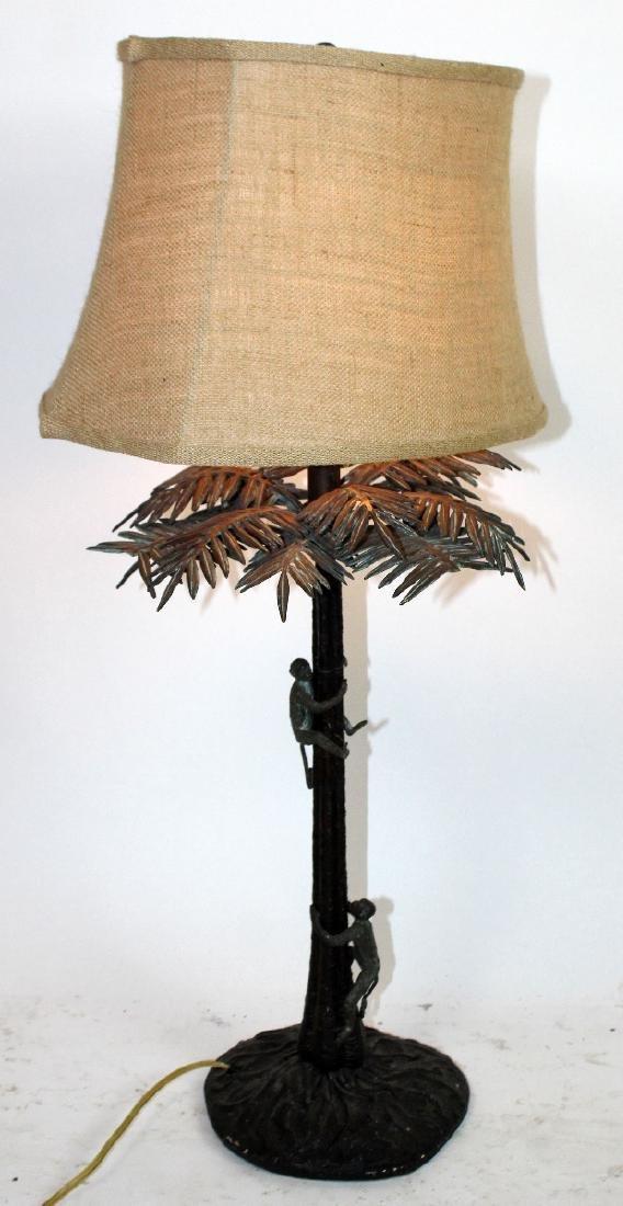 Maitland Smith bronze lamp