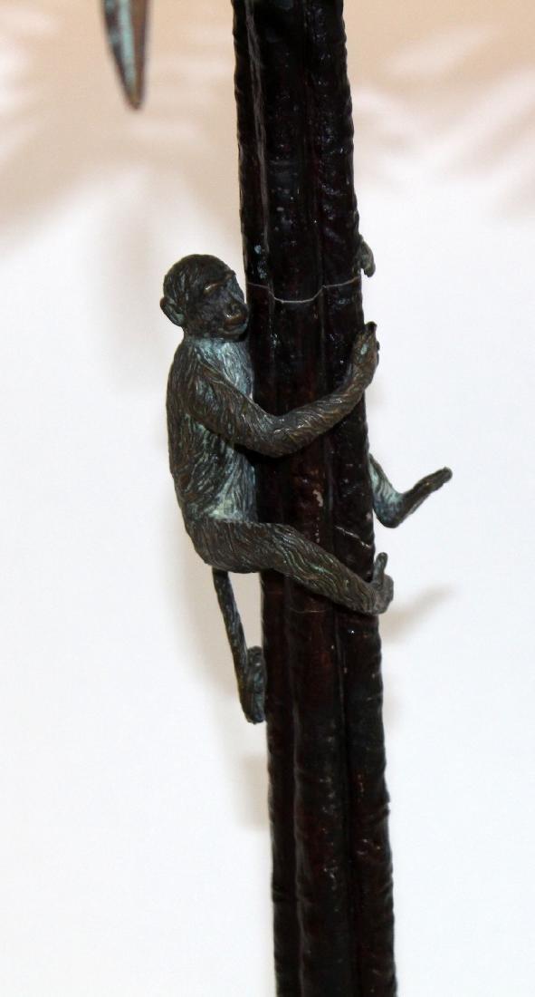 Maitland Smith bronze lamp - 5
