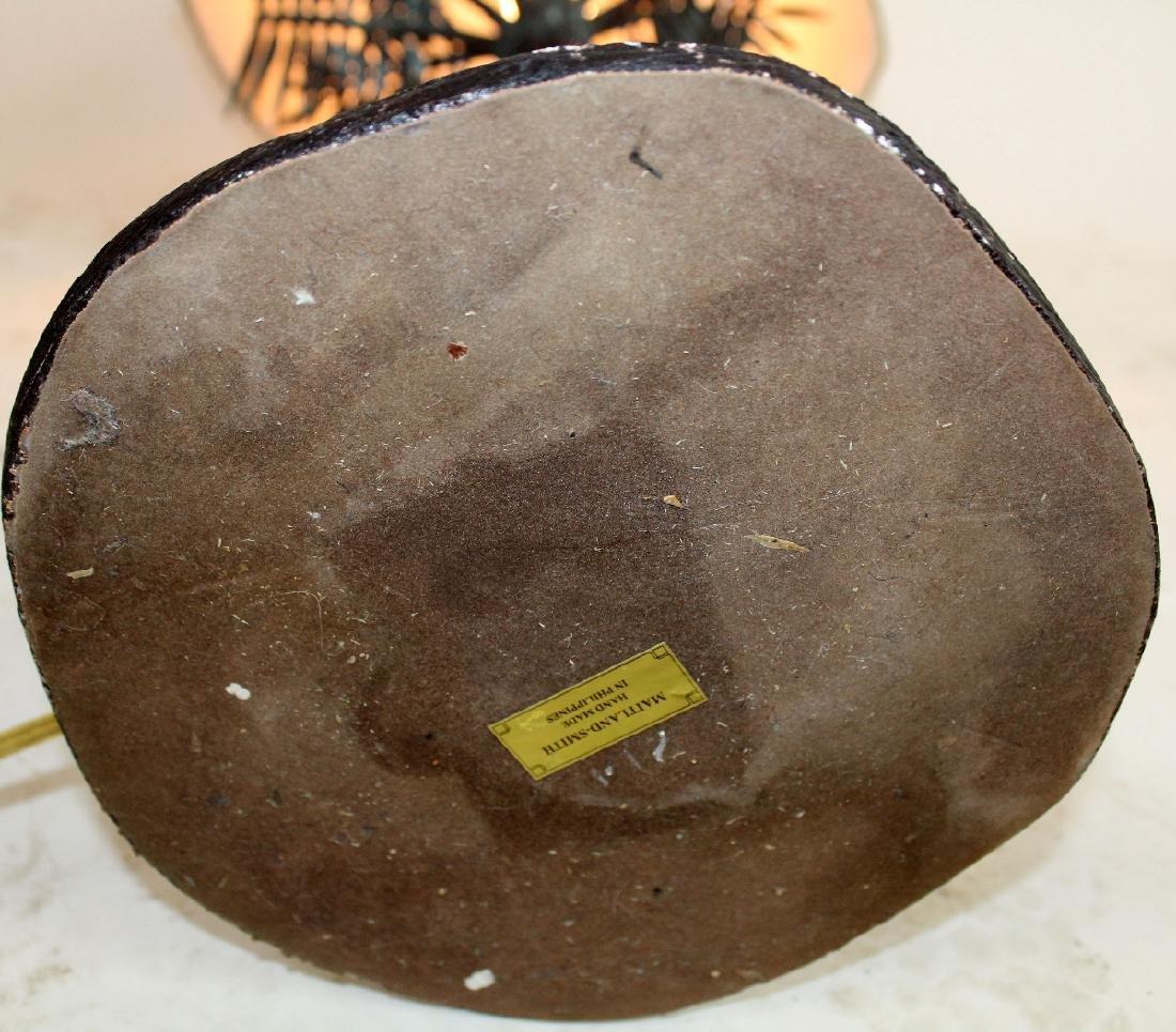 Maitland Smith bronze lamp - 6