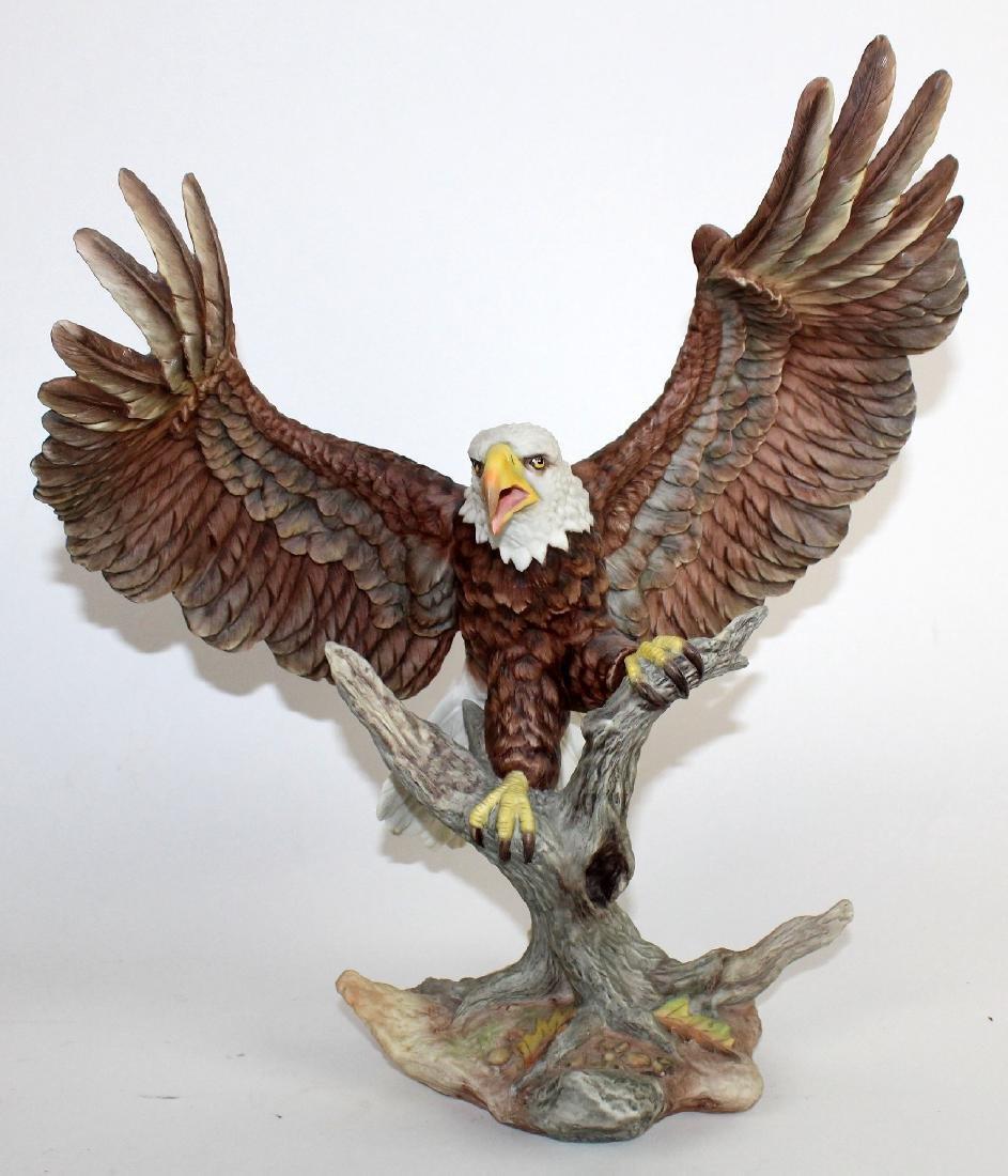 Boehm bald eagle porcelain sculpture