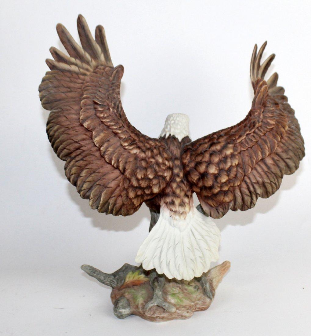 Boehm bald eagle porcelain sculpture - 3