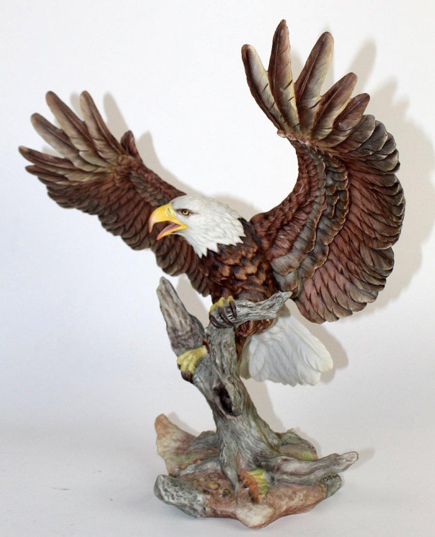 Boehm bald eagle porcelain sculpture - 4