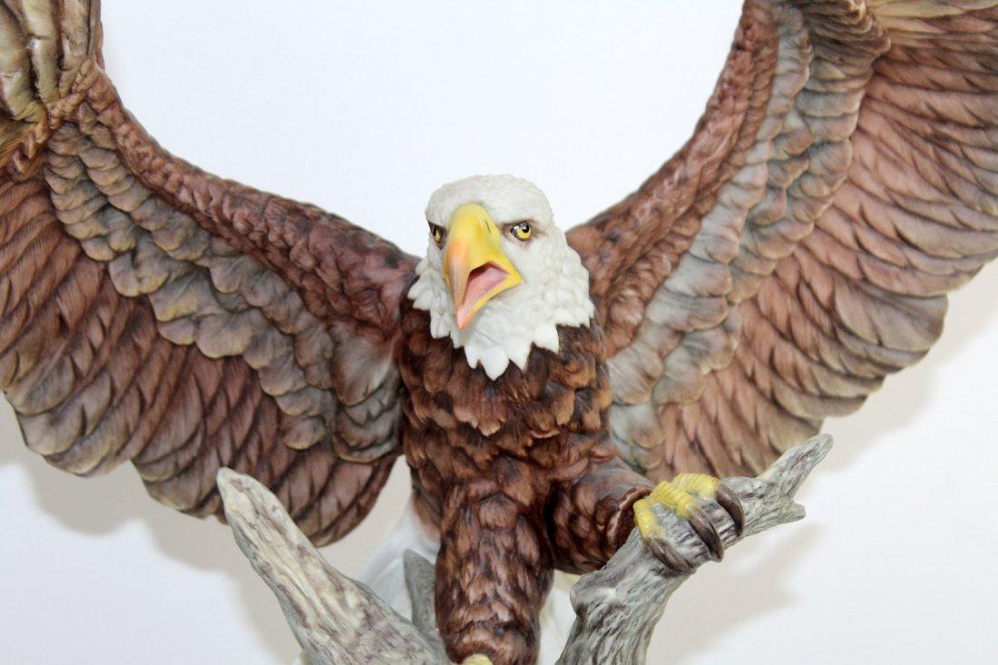 Boehm bald eagle porcelain sculpture - 5