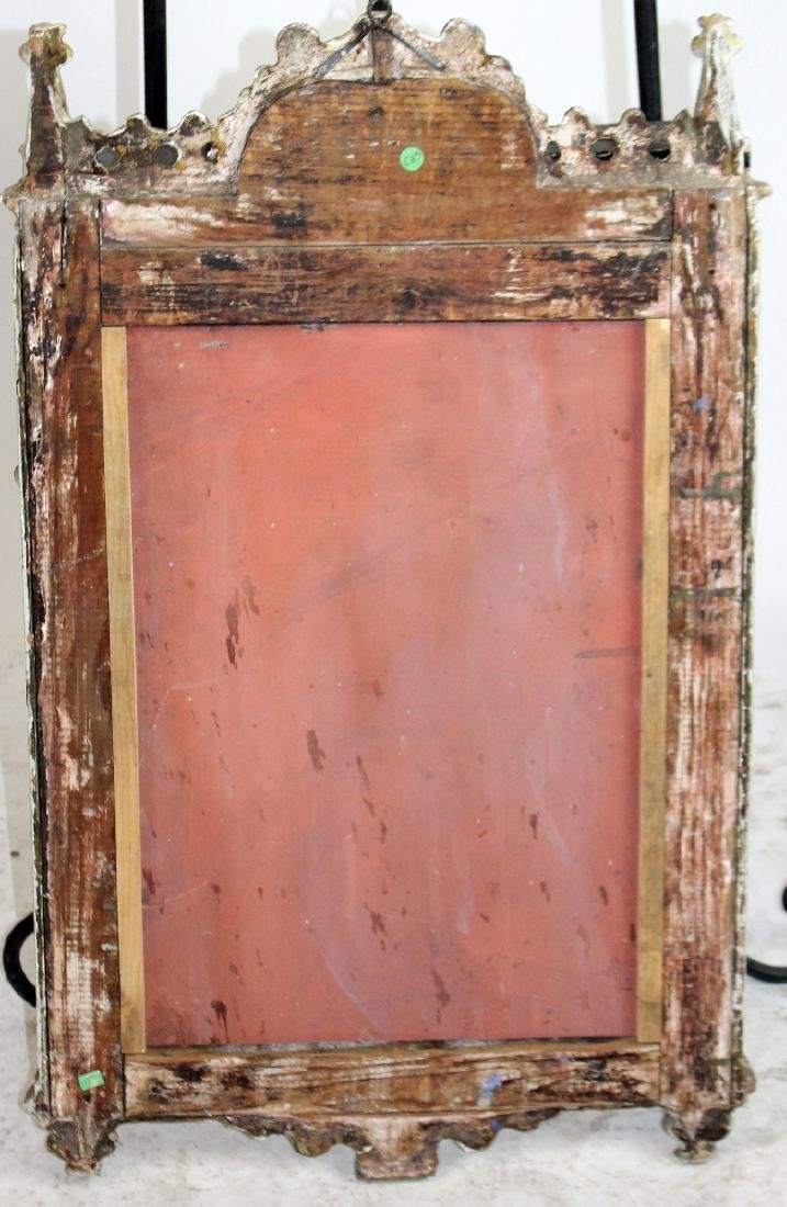 Italian carved and painted mirror - 2