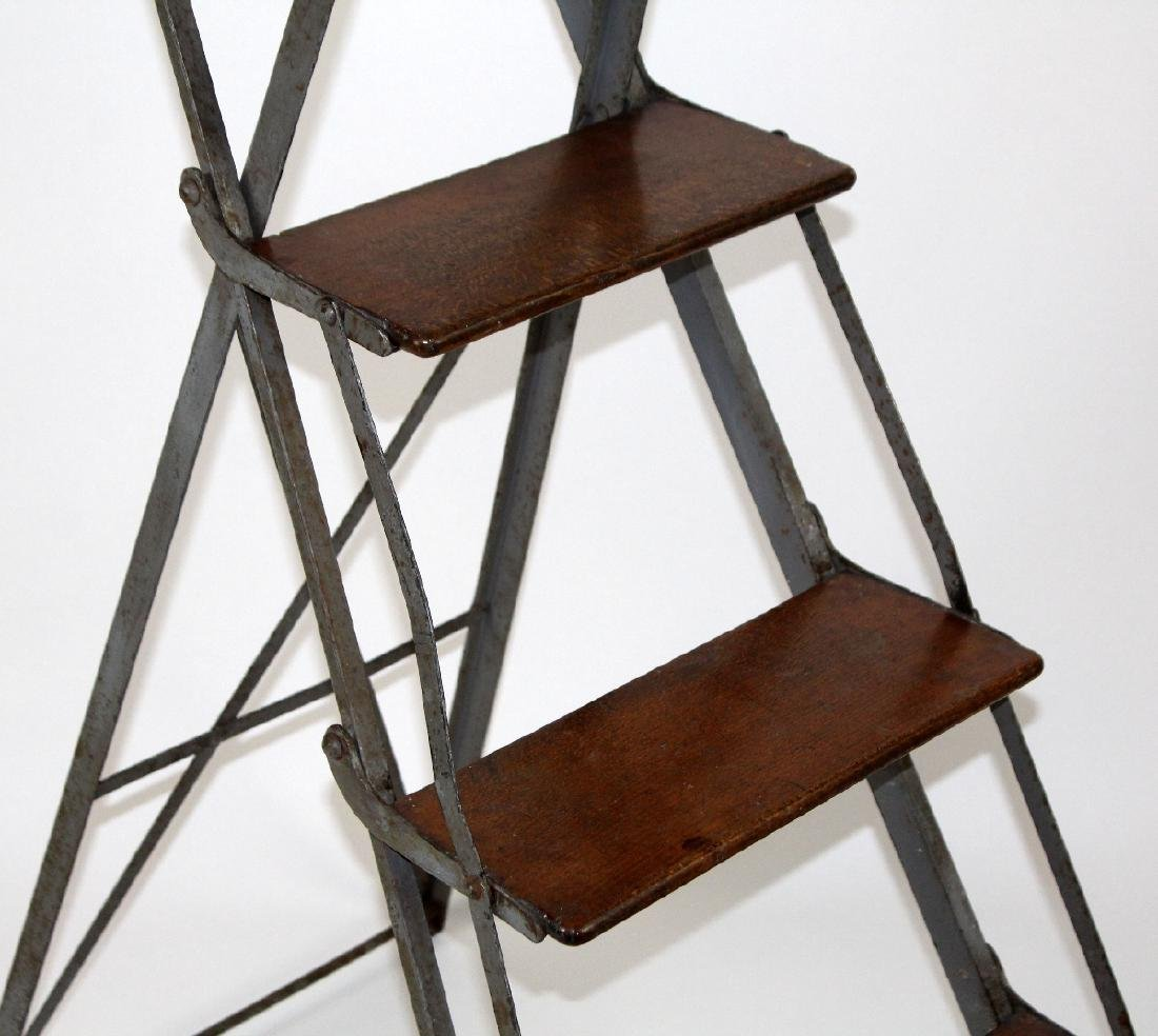 French folding library ladder - 5