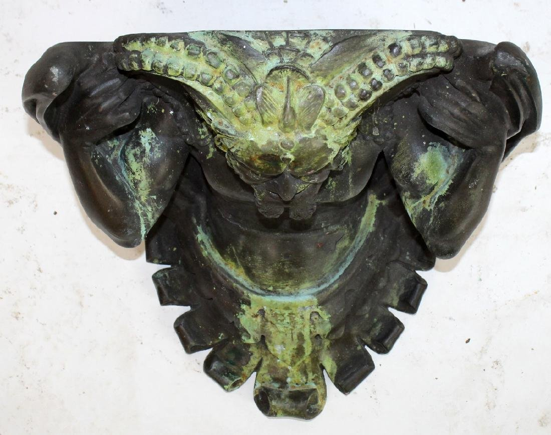 Gargoyle wall mount shelf - 4