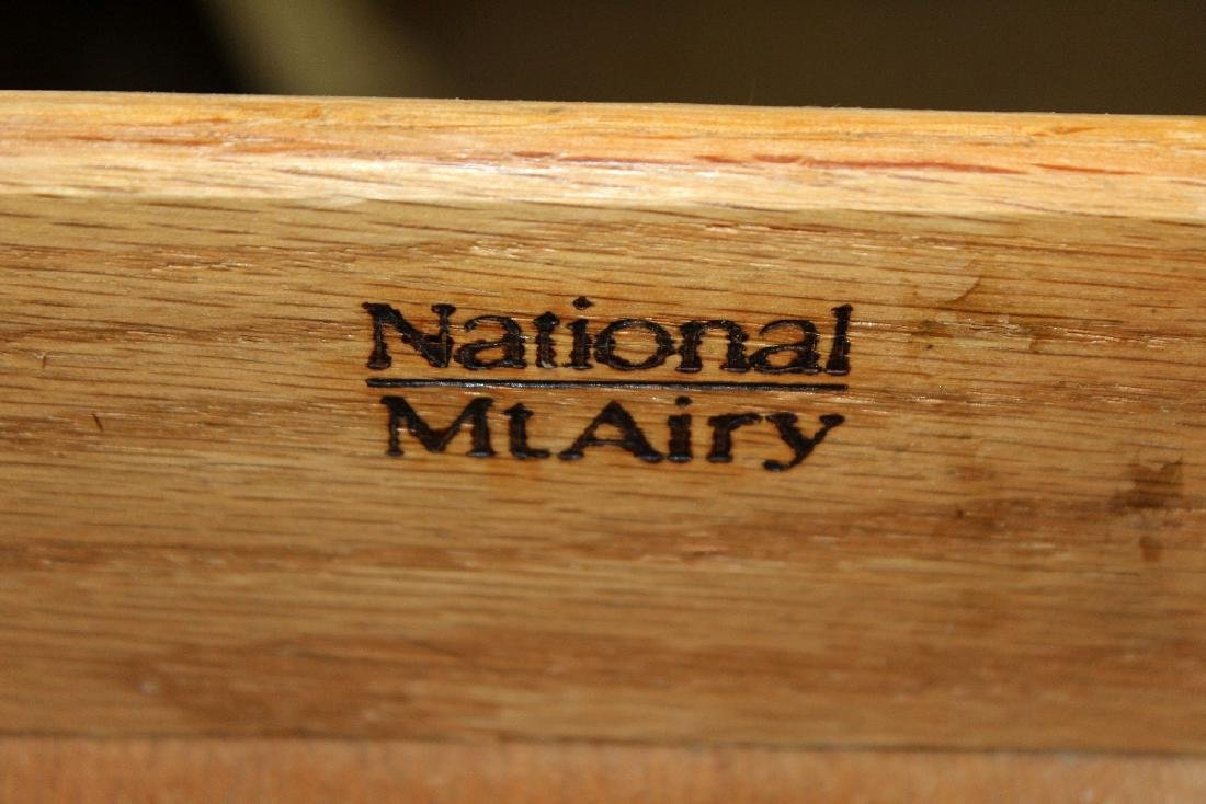 Pair of mahogany nightstands - 5