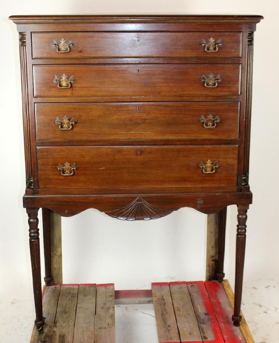 Charak 4 drawer chest on legs