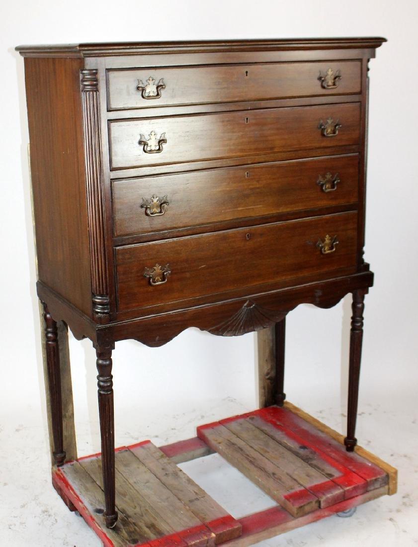 Charak 4 drawer chest on legs - 2