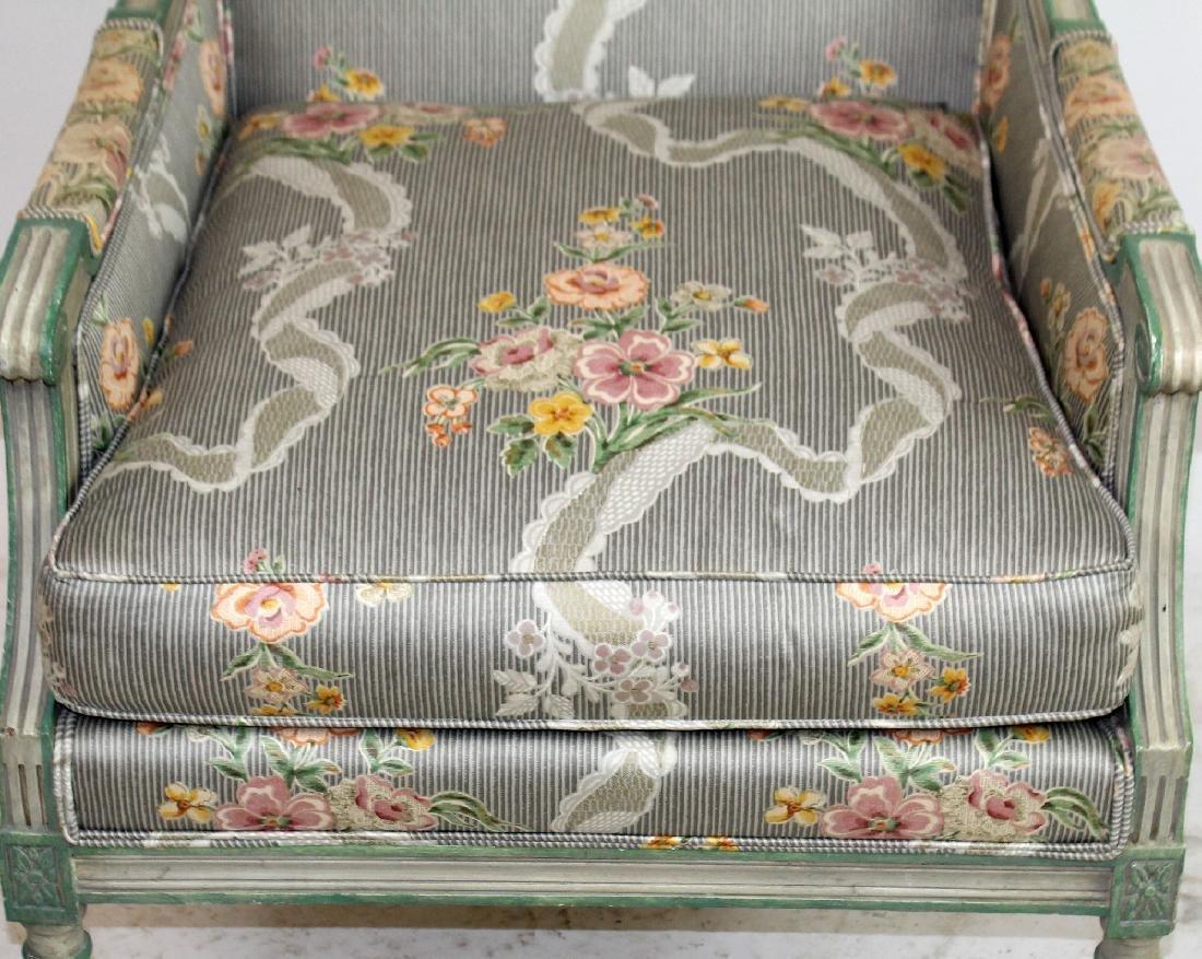 Louis XVI style bergere - 4