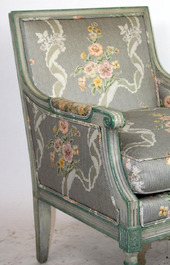Louis XVI style bergere - 6