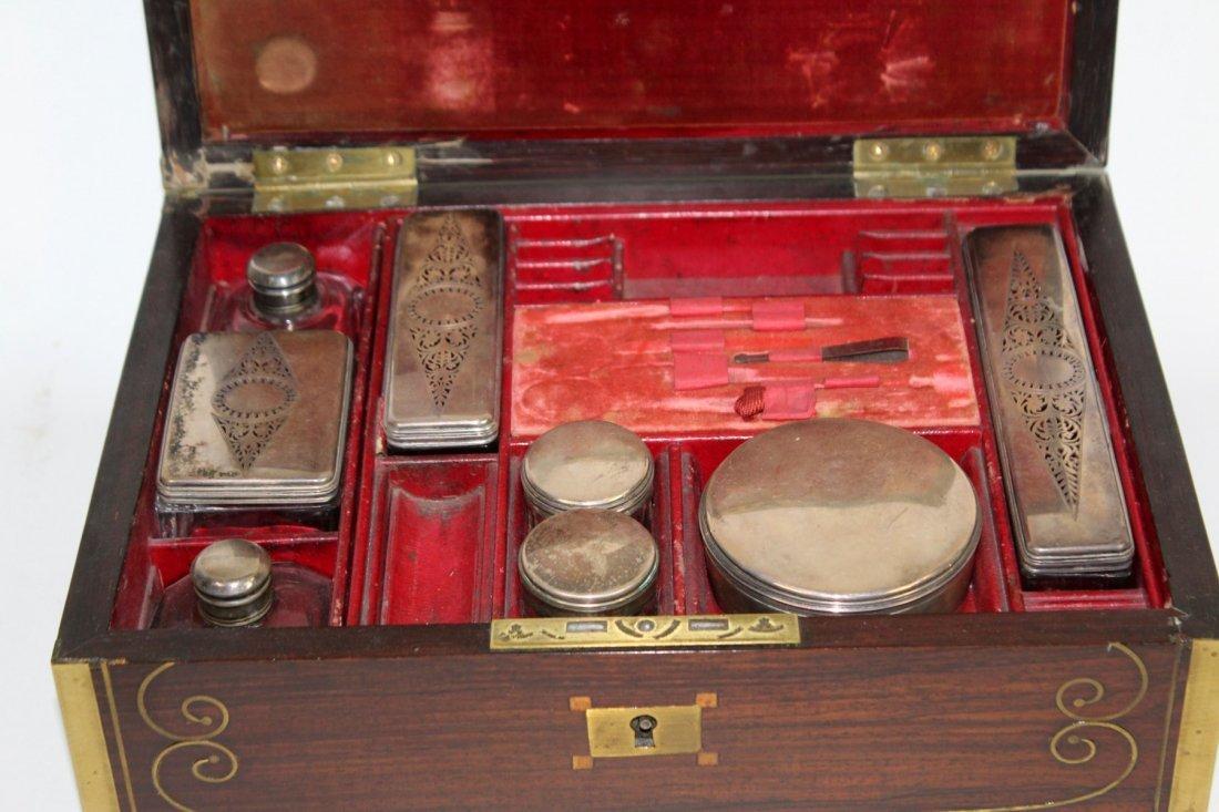 Thompson English rosewood vanity box - 5